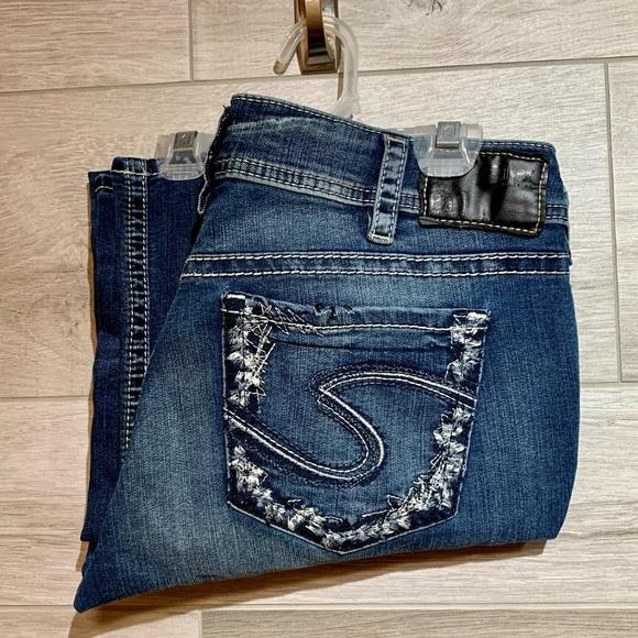 Stunning SilverSuki baby bootcut denim jeans 31x31